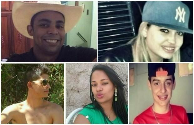 Jovens morrem em acidente na GO-330, em Pires do Rio (Foto: Reprodução/ TV Anhanguera)