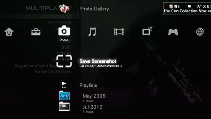 Alguns jogos permitem a captura de tela no PS3 (Foto: Reprodução/Youtube)