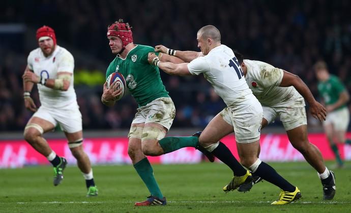Irlanda x Inglaterra rúgbi (Foto: Getty Images)
