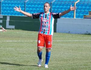 Gabriel, atacante Balsas (Foto: Bruno Alves)
