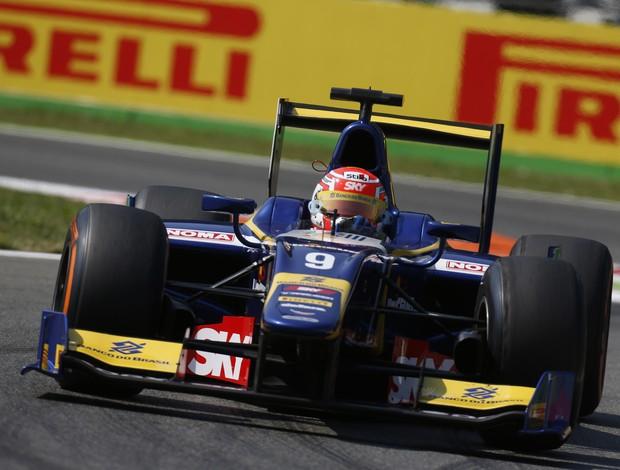 Felipe Nasr em ação no treino classificatório da GP2 em Monza (Foto: Divulgação)