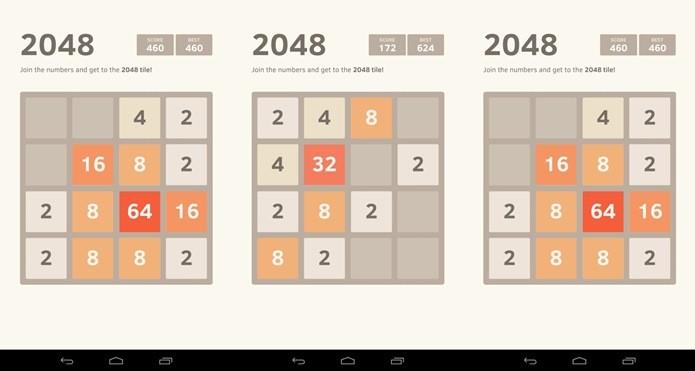 2048 foi um dos jogos mais baixados da semana para Android (Foto: Divulgação)