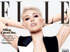Com visual novo, Miley Cyrus posa sem sutiã para capa de revista