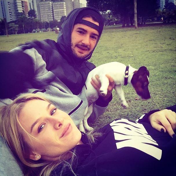 Fiorella Mattheis e Alexandre Pato (Foto: Instagram)