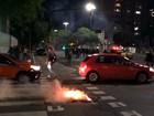 Protesto tem confronto com a Brigada Militar em Porto Alegre
