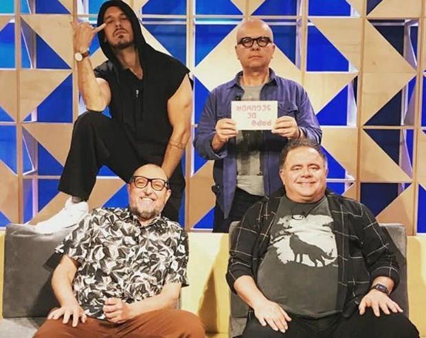 Tas e João Vicente brigam feio nos bastidores de programa