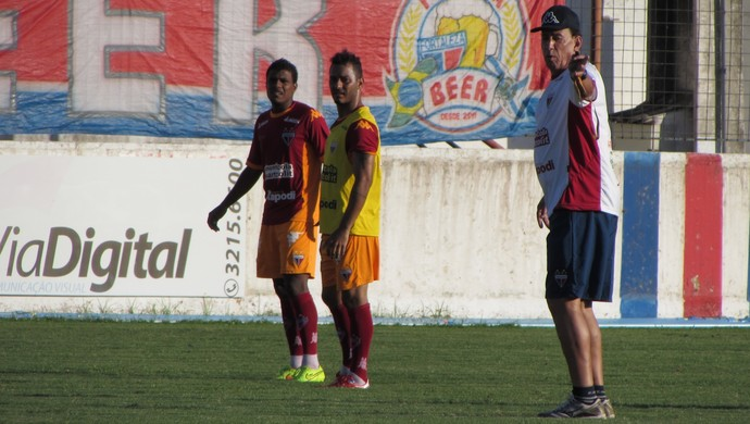 Nedo Xavier, técnico, Fortaleza (Foto: Juscelino Filho)