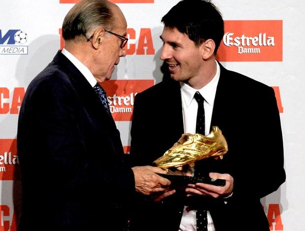 lionel messi barcelona chuteira de ouro (Foto: Agência AFP)