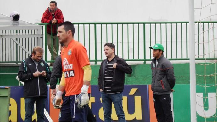 Cadu Gaúcho, Sandro Pallaoro e Anderson Paixão (Foto: Laion Espíndula)