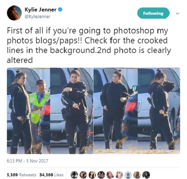 Post de Kylie Jenner (Foto: Reprodução/Twitter)