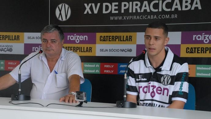 Renato Bonfíglio Fábio Sá Lateral XV de Piracicaba Nhô Quim (Foto: Eduardo Castellari / XV de Piracicaba)