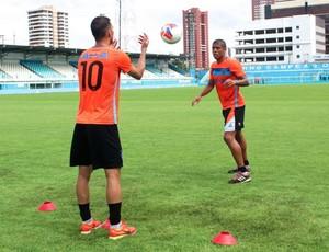 Diogo Oliveira e Bérgson (Foto: Jorge Luiz/Paysandu)