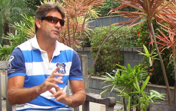 renato portaluppi renato gaúcho entrevista especial grêmio olímpico (Foto: Claudio Lacerda/RBS TV)