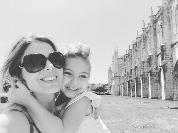Sheila Mello com a filha, Brenda (Foto: Reprodução - Instagram)