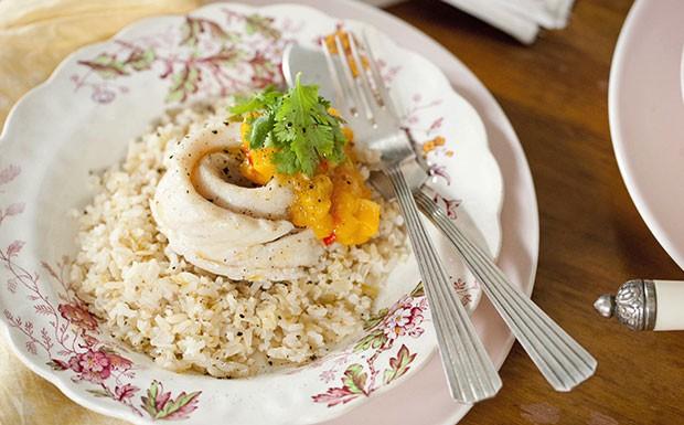 'Cozinha Prtica' - Ep. 17 - peixe em roseta com arroz integral (Foto: Reproduo / GNT)