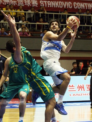 Laprovittola vem fazendo uma boa Copa Stankovic (Foto: Lu Hui /Stankovic Cup)