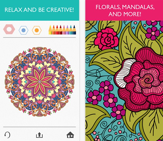 Aplicativo Colorfy, para dispositivos iOS, imita mania dos livros de colorir (Foto: Divulgação/Colorfy)