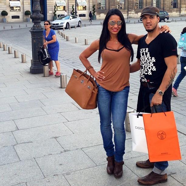 Belo e Gracyanne Barbosa (Foto: Reprodução/Instagram)