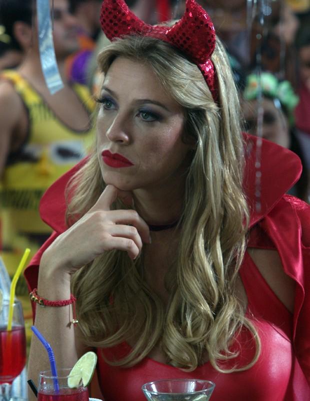 Luana em Mulher Invisível (Foto: TV Globo/Zeca Guimarães)