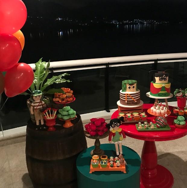 Decoração da festa (Foto: Reprodução/Instagram)