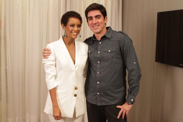 Marcelo Adnet e Taís Araújo (Foto: Raphael Mesquita/ Foto Rio News)