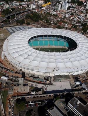 Arena Fonte Nova em 27/02/2013 (Foto: Elói Corrêa / Governo da Bahia / Divulgação)