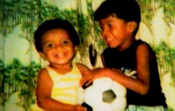 """Irmão diz que Luiz Gustavo encarava grandalhões na infância: """"Abusado"""""""