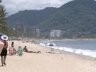 Turistas devem evitar Martin de Sá e outras 13 praias do litoral norte de SP