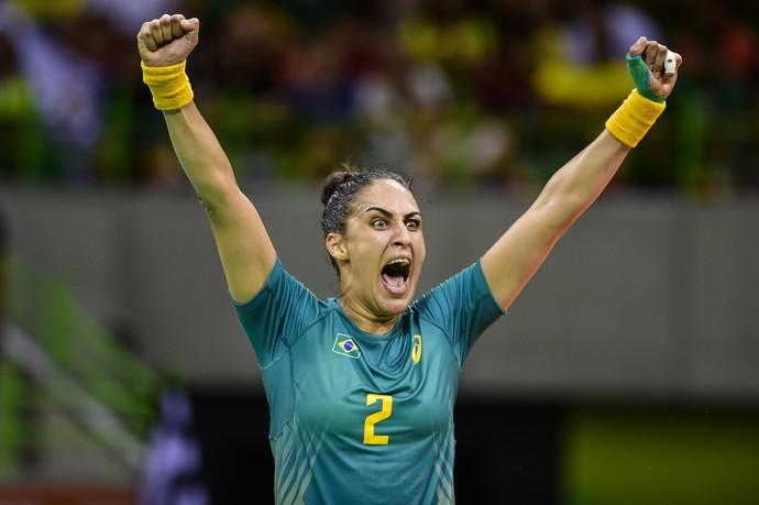 Seleção feminina de handebol, Rio 2016, Olimpíada, Dara (Foto: William Lucas/inovafoto)