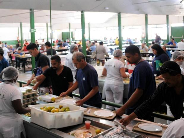 Restaurante comunitário de Santa Maria, no Distrito Federal (Foto: Dênio Simões/GDF/Divulgação)