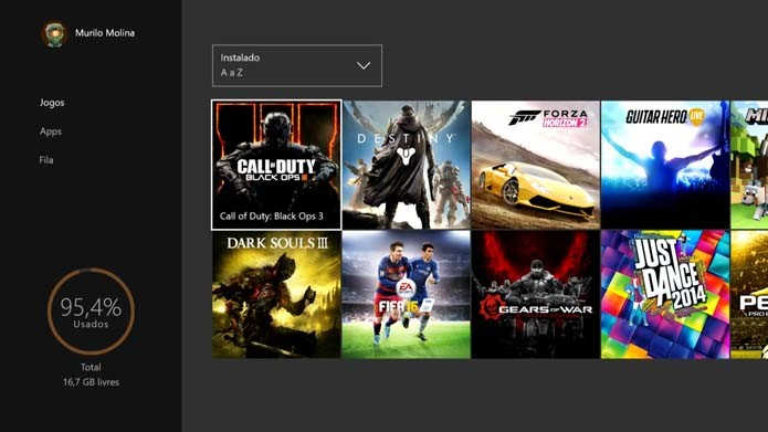 Adicione um HD externo ao Xbox One (Foto: Reprodução/Murilo Molina)