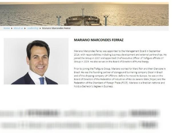 Foto do empresário foi anexada no documento no MPF (Foto: Reprodução)