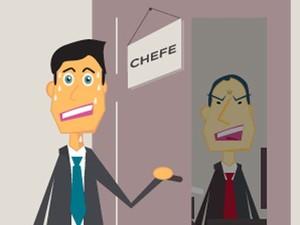 Saiba como conversar sobre nova oportunidade sem se queimar com o chefe (Foto: Arte / G1)