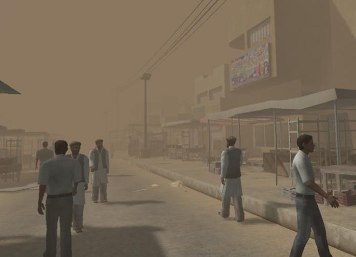 Realidade virtual é usada para combater estresse pós traumático (foto: Reprodução/USC)