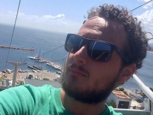 Laion Espíndula era repórter do Globoesporte.com desde 2013 (Foto: Arquivo Pessoal)