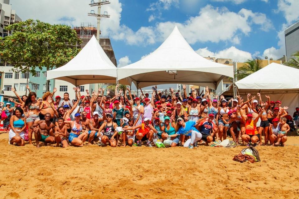 Circuito de Verão TV Gazeta (Foto: Larissa Passos)