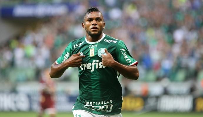 43549f1e0 27 minutos, um gol, emoção e sorriso: a estreia de Borja pelo Palmeiras