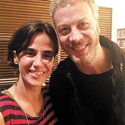 Mariana Lima e Guilherme Weber (Foto: Arquivo pessoal)