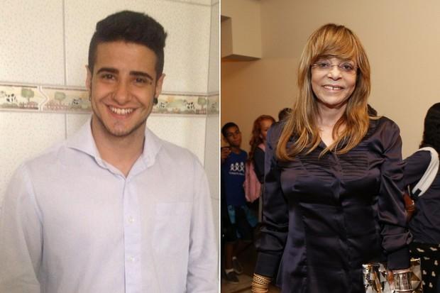 Tereza Brant e Glória Perez (Foto: Arquivo Pessoal | AgNews)