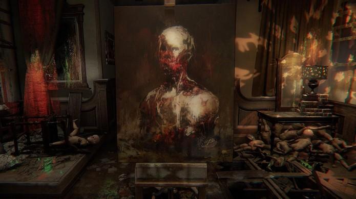 Layers of Fear traz uma dose de insanidade artística ao estilo de Silent Hill (Foto: Reprodução/Three-Headed Monkey)