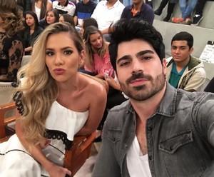 Adriana e Rodrigão no 'Altas' (Foto: Arquivo Pessoal)