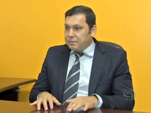 Marcos Regenold nega a suspeita de envolvimento com Éder Moraes (Foto: Reprodução/TVCA)