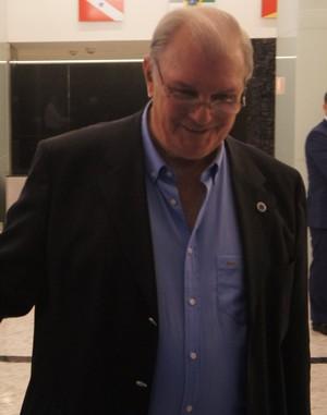 Gilvan Tavares, presidente do Cruzeiro (Foto: Daniel Mundim)