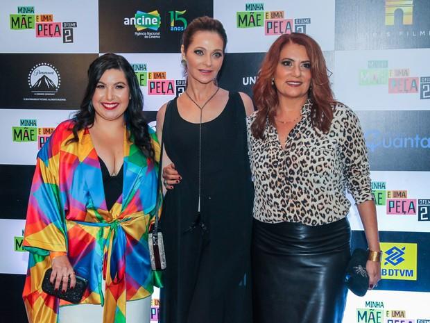 Mariana Xavier, Alexandra Richter e Patricya Travassos em pré-estreia de filme em São Paulo (Foto: Manuela Scarpa/ Brazil News)