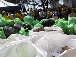 Movimento mundial de coleta de lixo reciclável chega a João Pessoa (Foto: Divulgação/Limpa Brasil)