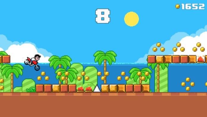 Difícil e viciante, Moto Joe tem dificuldade inspirada em Flappy Bird (Foto: Divulgação)