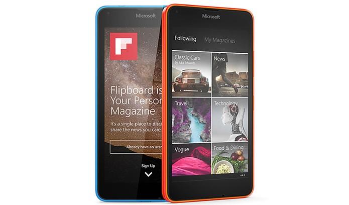 Smartphone Microsoft Lumia 640 DTV (Foto: Divulgação/Microsoft)