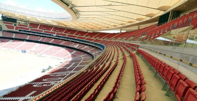 Novo estádio do Atlético de Madrid