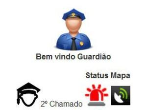 Aplicativo segurança UFU (Foto: Reprodução/Guardiões UFU)