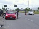 Mais de 1,2 mil motoristas são multados nas rodovias federais em PE